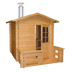 Sauna de exterior HARVIA Kuikka SO 2200