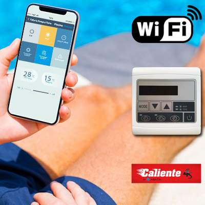 Kit wifi bomba de calor CALIENTE BLACK EDITION 4S/4SV