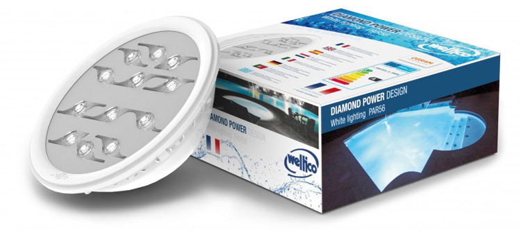 Lampara weltico led y carton