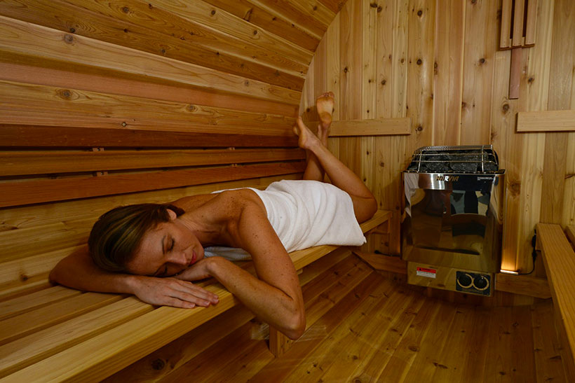 Sesion sauna pinnacle